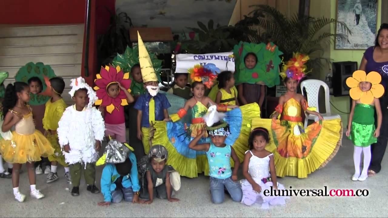 Niños y niñas creando conciencia en el Día Internacional de la Tierra -  YouTube fb4dd9f4fd3