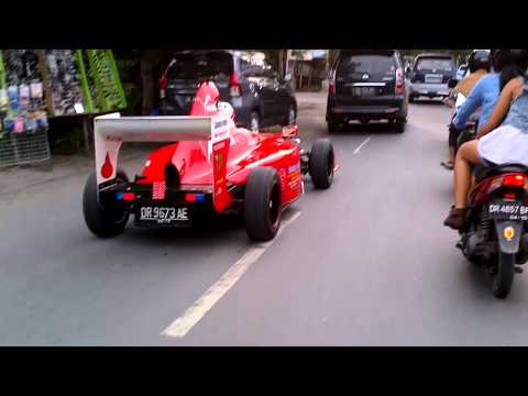 F1 on the road , indonesia