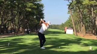 プロゴルファー小平智のドライバーショット!(スロー再生ショット分析) 小平智 動画 6