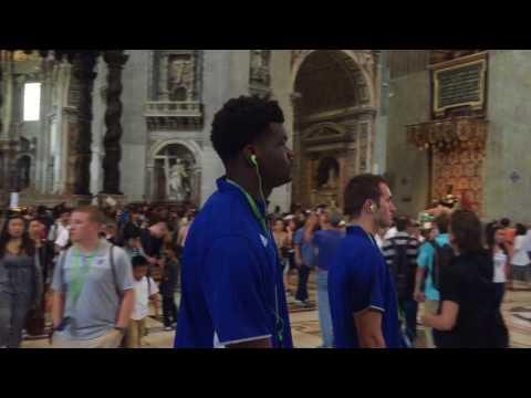 Join the Jayhawks in Vatican City