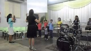Coreografia crianças- 5 letrinhas .