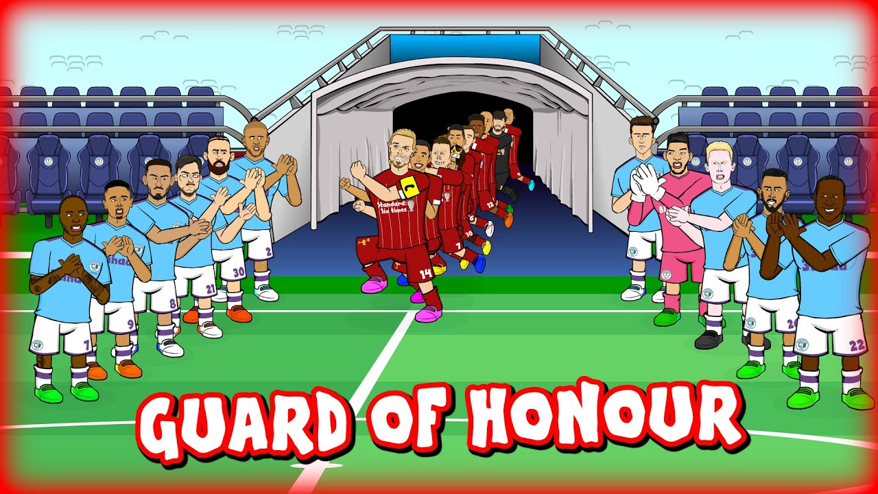 🏆Man City's Guard of Honour for Liverpool🏆 (Preview 2020 Champions vs Highlights)