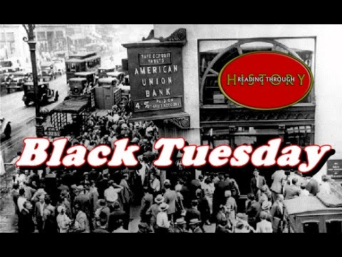 History Brief: Black Tuesday (The Stock Market Crash)
