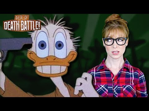 Donald Duck vs. Facing PTSD Issue?