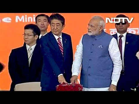 PM Modi, Abe Launch India's First Bullet Train Project
