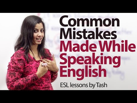 Common Mistakes That We Make While Speaking English