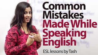 Common Mistakes that we make while speaking English - Free ESL lesson