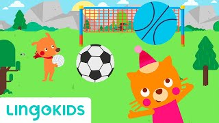 Sports Song: Play with me! - Lingokids