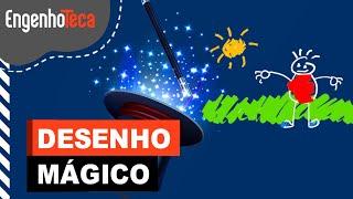 DESENHO MAGICO - Atividade para fazer com as crianças