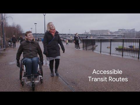Google Maps Accessible Transit Routes