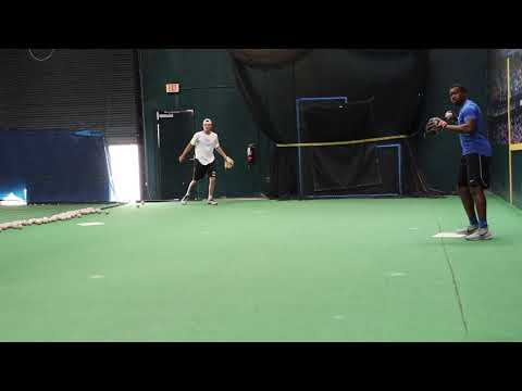 Infield Drills - Double Play Turns from ShortStop