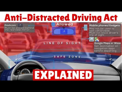 LATEST: What you need to know about Anti-Distracted Driving Act (RA 10913)