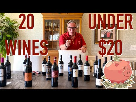 Affordable Wines    20 Wines UNDER $20    Decants With D