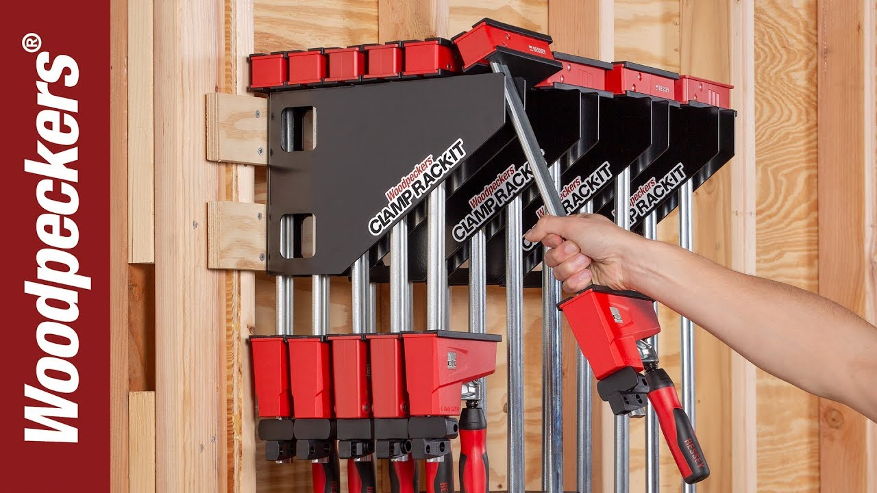 Clamp Rack It For Wood Clamps Youtube