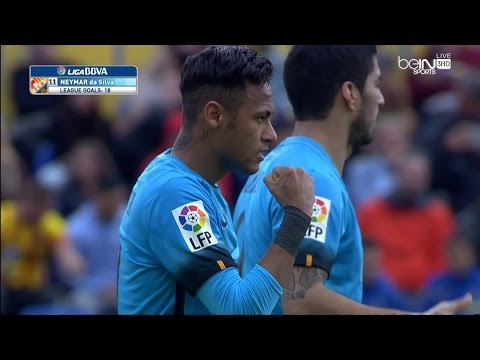 ملخص مباراة برشلونة ولاس بالماس HD بتعليق علي محمد علي 20-2-2016