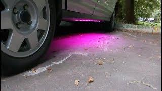 видео Подсветка дверей на Ваз 2112