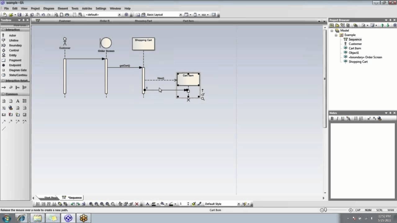 Free Uml Sequence Diagram Tool Nissan Pathfinder Trailer Wiring Howto Ea Diagrams - Youtube