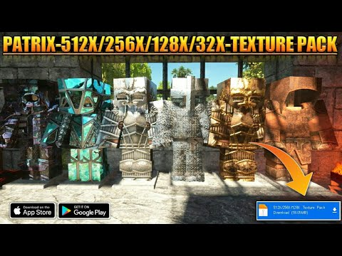Patrix Texture Pack All In One Video || New Texture Pack For Minecraft Pocket Edition•Free Download