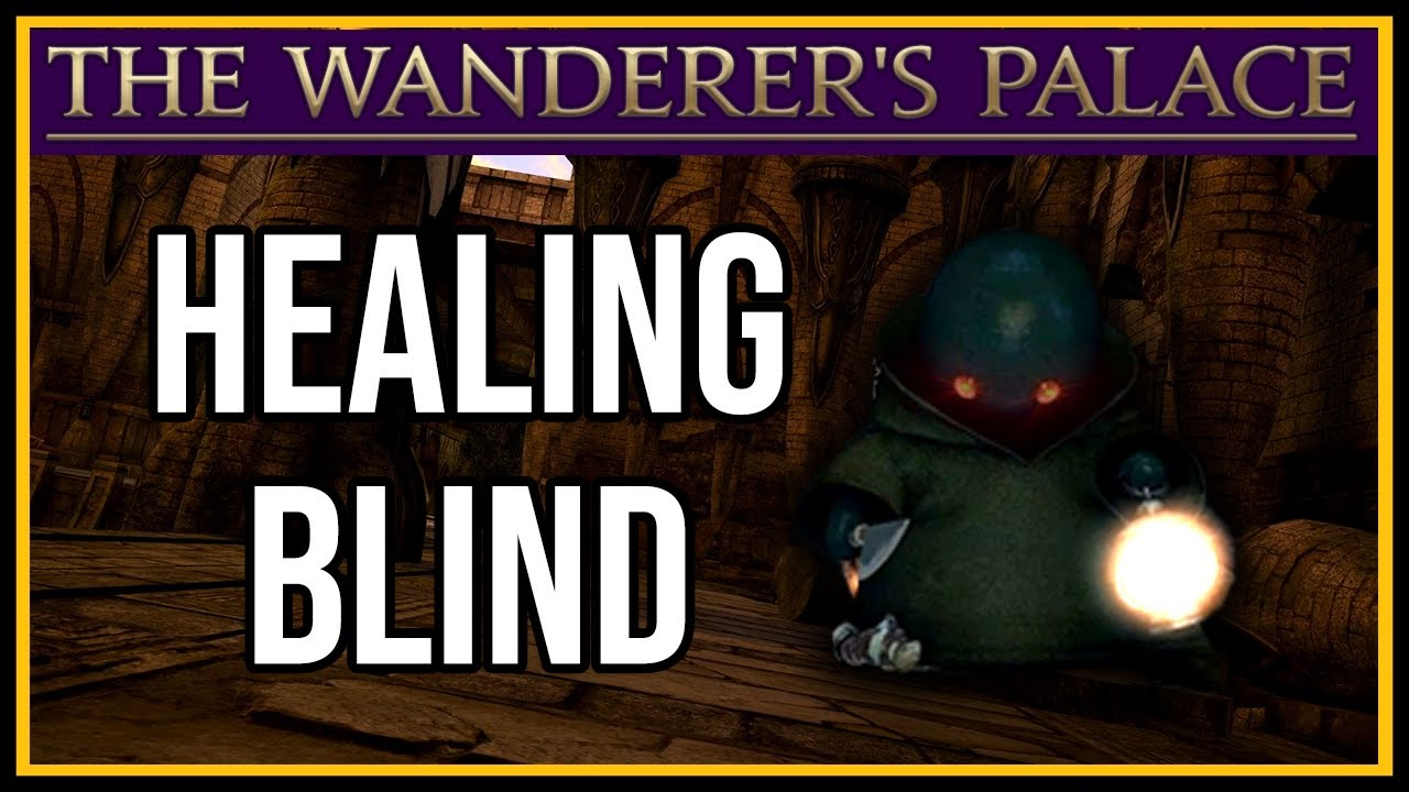Download Healing The Wanderer's Palace the first time - FFXIV