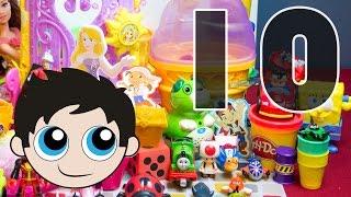 Episode 10: Play-Doh Edition: Superman, Ice Cream Cone, Water Blast, Rochelle, Dice