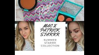 MAC x PATRICK STARRR | SUMMER STARRR COLLECTION ☀️