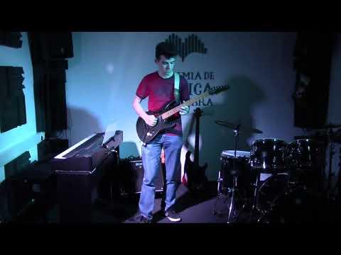 Gabriel Ferreira Guitarra Electrica Prof José Rebola Warriors Ronan Hardiman AMC Dez 2019