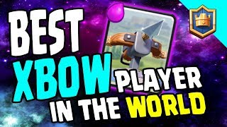 36 GRAND CHALLENGES WON IN A ROW! Best Xbow Player That One Guy! - Clash Royale