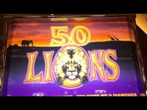 50 lions slot machine bonus at venetian youtube. Black Bedroom Furniture Sets. Home Design Ideas