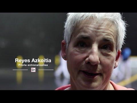 IKUSTENDA 'Kirola bizi': Reyes Azkoitia