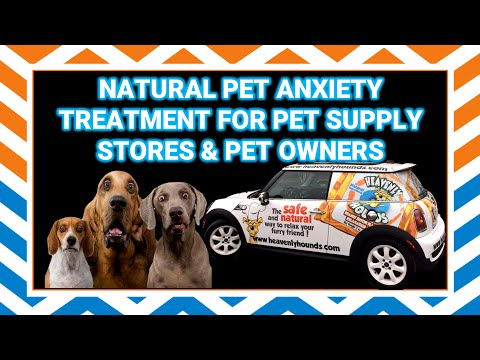 Natural Dog Anxiety Treatment for Pet Food Supply Stores - Heavenly Hounds