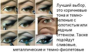 видео Макияж для зеленых глаз фото