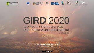 GIRD 2020 - Giornata Internazionale per la Riduzione dei Disastri