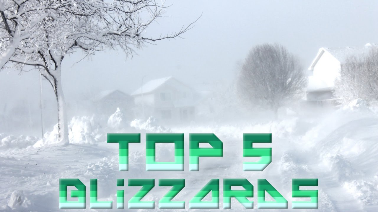 worst blizzards in the world 5 worst blizzards ever youtube