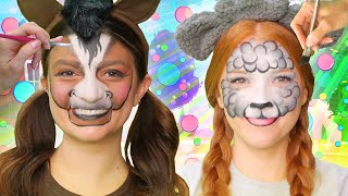 The WigglePops Farm Animals! | Face Paint| WigglePop