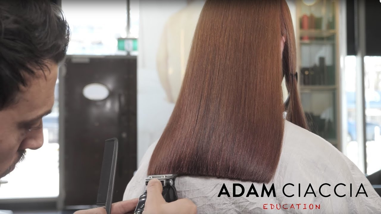 When A Trim Is More Than Just A Trim Long Layers Face Framing