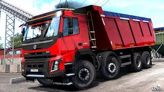 "[""Chris Maximus"", ""Euro Truck Simulator 2"", ""ETS2"", ""ETS2 Mods"", ""Euro Truck Simulator 2 Mods"", ""ETS2 1.36"", ""ETS2 1.36 Mods"", ""ETS2 Mods 1.36"", ""Volvo FMX 2013"", ""ETS2 Kipper"", ""Volvo FMX 2013 Kipper"", ""New Actros 2019 Mirror Cam"", ""Ets2 Mods Installiere"