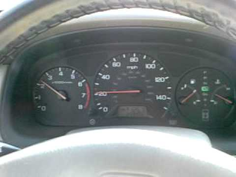 HELP!  1999 Honda Accord Sedan LX:  Dashboard Lights Turn On While Driving