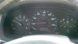 1999 Honda Accord Sedan Lx Dashboard Lights Turn On While Driving You