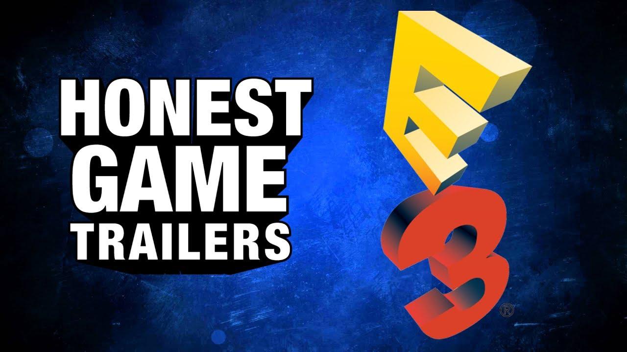 e3 honest game trailers youtube
