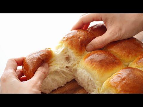 Soft Milk Bread eggless Fluffy Dinner Rolls - B nh M S a M m X p