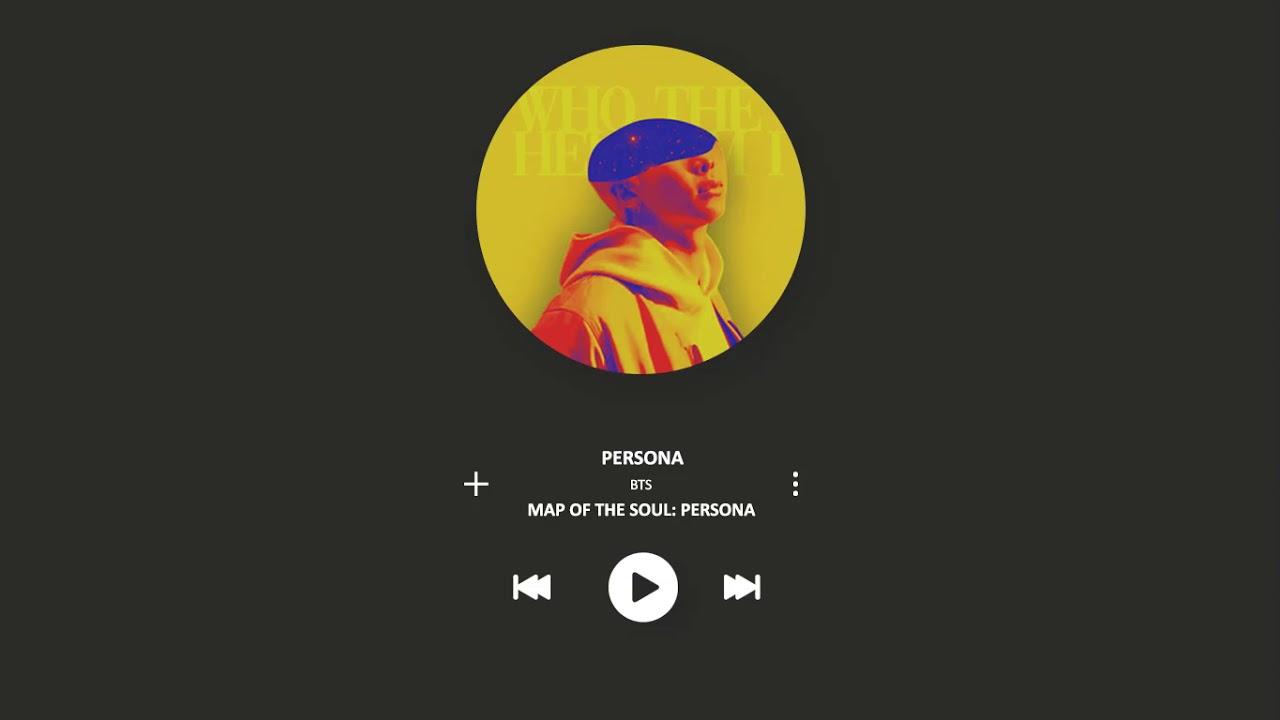 BTS (방탄소년단) - PERSONA [MP3 DOWNLOAD]