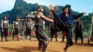 Джеки Чан и 10 тигров против банды черных скорпионов....