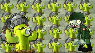 Plants vs Zombies 2 Cactus The King Of Plants - Gameplay Monster Cactus