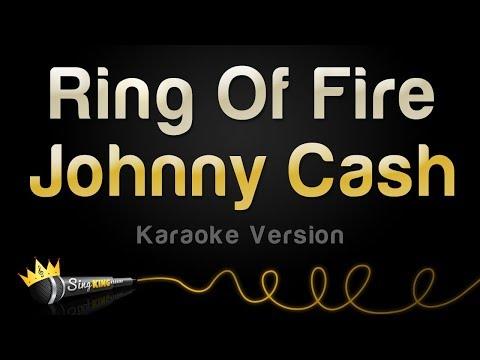 Johnny Cash - Ring Of Fire (Karaoke Version)