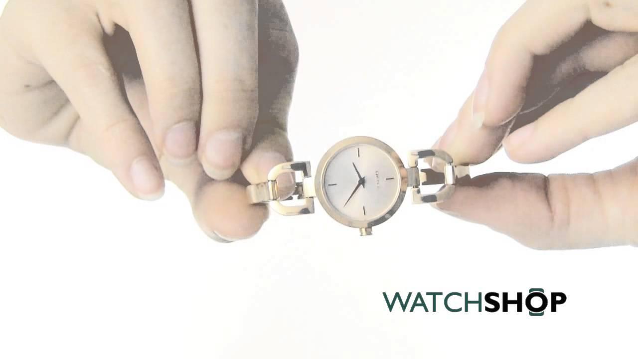 fc7cdc5da DKNY Ladies' D-Link Watch (NY8542) - YouTube
