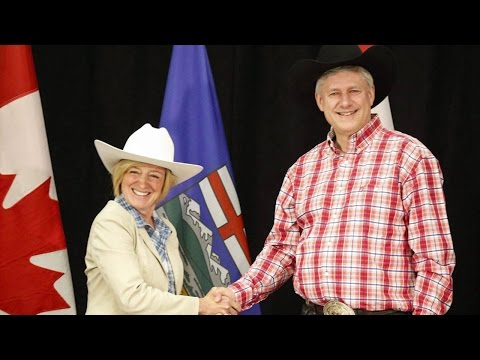 Alberta premier says she and PM share concern for Alberta economy
