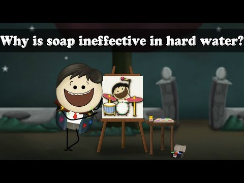 Why Is Soap Ineffective In Hard Water? | #aumsum