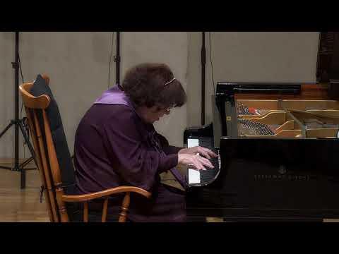 SCHUBERT - Six moments musicaux - No. 2 Moderato - Sretna Meštrović - last public performance