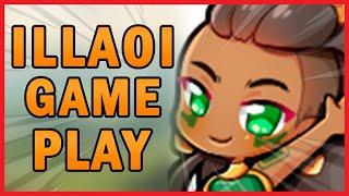 Rank 1 Illaoi NA plays... ILLAOI!  League of Legends gameplay