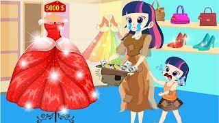 Equestria Mädchen - in Der Schule Geschichten lustige Geschichte - Zeichentrick für Kinder - Sammlung